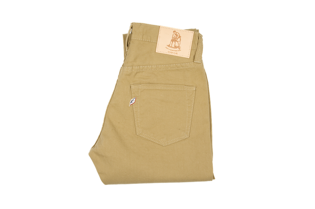 Pure Blue Japan Selvedge Twill Chinos - Beige - Image 2