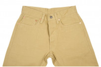 Pure Blue Japan Selvedge Twill Chinos - Beige - Image 3