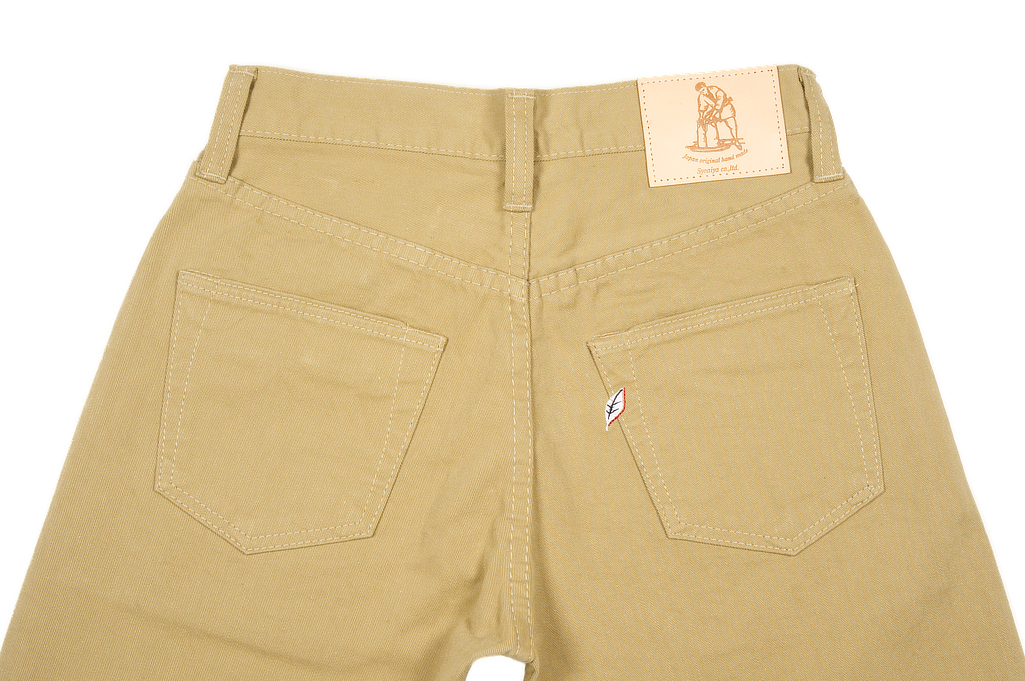 Pure Blue Japan Selvedge Twill Chinos - Beige - Image 5