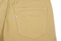 Pure Blue Japan Selvedge Twill Chinos - Beige - Image 6