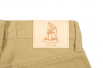 Pure Blue Japan Selvedge Twill Chinos - Beige - Image 7