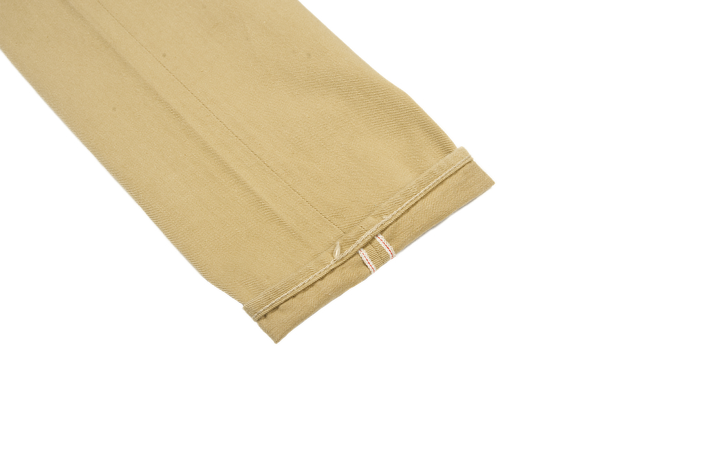 Pure Blue Japan Selvedge Twill Chinos - Beige - Image 8