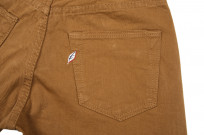 Pure Blue Japan Selvedge Twill Chinos - Dark Camel - Image 6