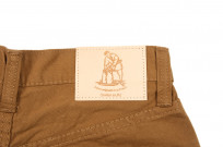Pure Blue Japan Selvedge Twill Chinos - Dark Camel - Image 7