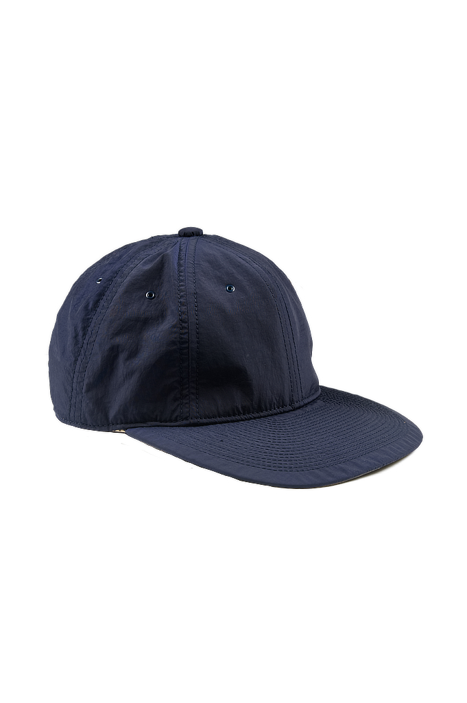 Poten Japanese Made Cap - Dark Navy Nylon - Image 0