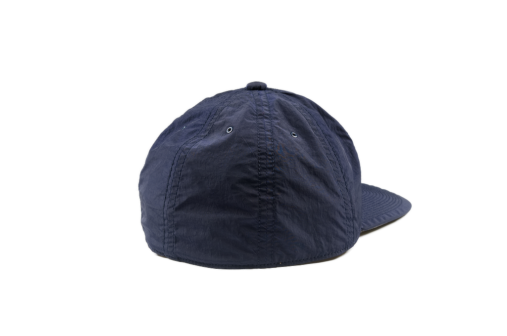 Poten Japanese Made Cap - Dark Navy Nylon - Image 1