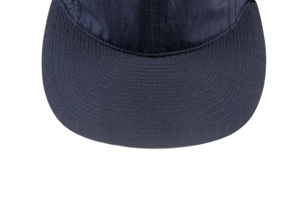 Poten Japanese Made Cap - Dark Navy Nylon - Image 2