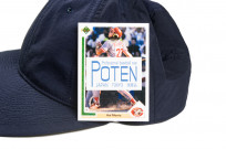 Poten Japanese Made Cap - Dark Navy Nylon - Image 6