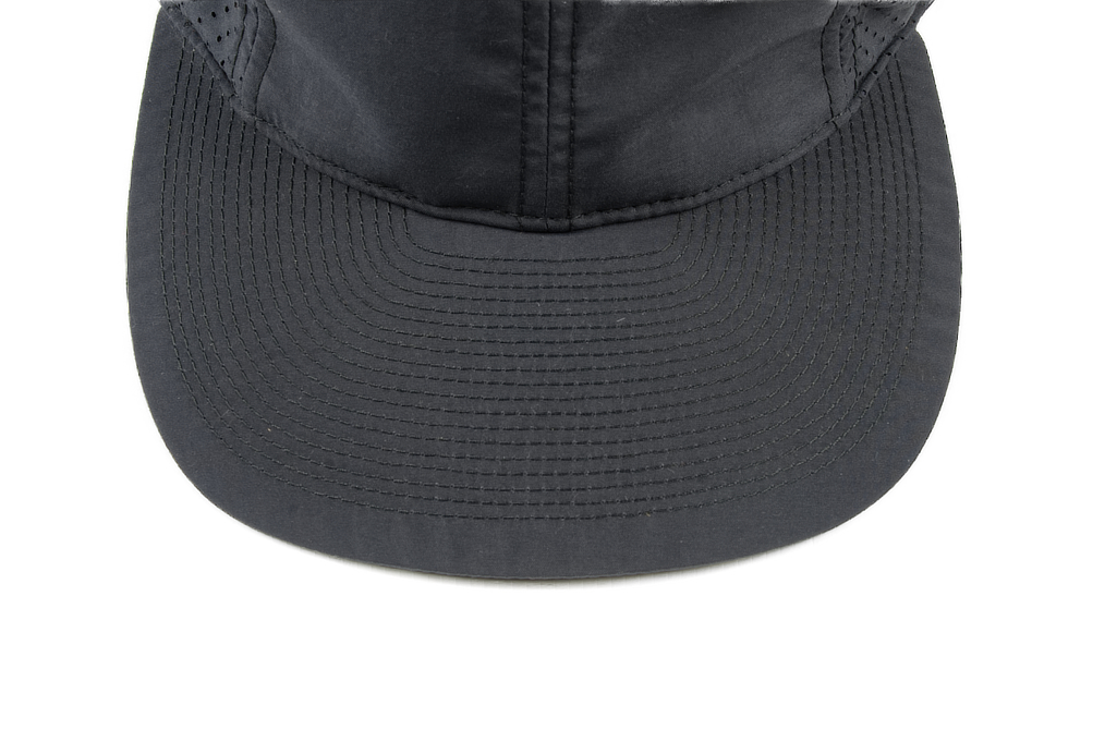 Poten Japanese Made Cap - Grayish Blue Perforated Nylon - Image 2