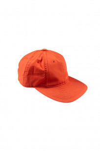 Poten Japanese Made Cap - Coated Red Cotton - Image 0
