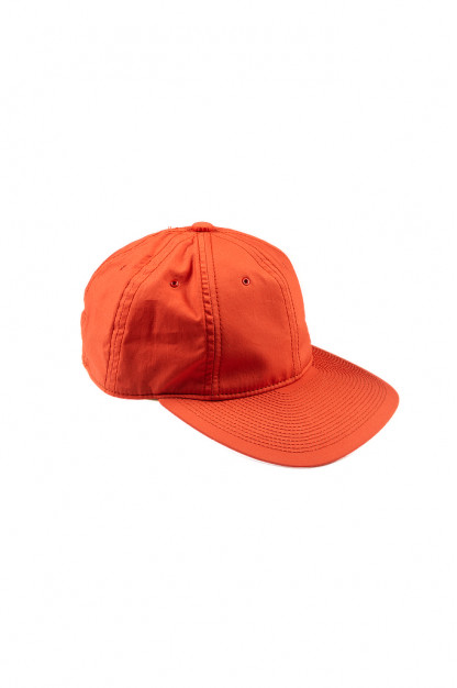 Poten Japanese Made Cap - Coated Red Cotton