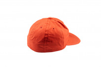 Poten Japanese Made Cap - Coated Red Cotton - Image 1