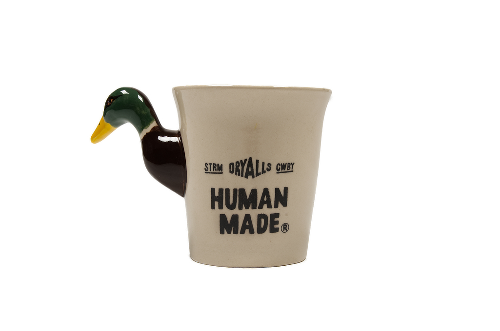Human Made Ceramic Duck Mug - Image 1
