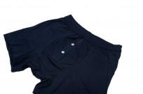 Merz B. Schwanen Loopwheeled Boxer Brief Underwear - Ink Blue - Image 1