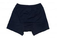 Merz B. Schwanen Loopwheeled Boxer Brief Underwear - Ink Blue - Image 3