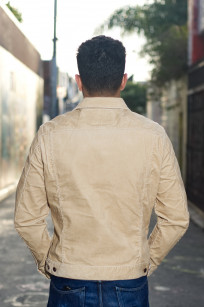 Iron Heart Corduroy Modified Type III Jacket - Ivory - Image 1