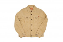Iron Heart Corduroy Modified Type III Jacket - Ivory - Image 2