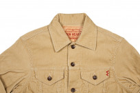Iron Heart Corduroy Modified Type III Jacket - Ivory - Image 3