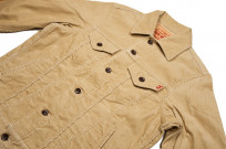 Iron Heart Corduroy Modified Type III Jacket - Ivory - Image 5