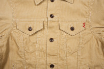 Iron Heart Corduroy Modified Type III Jacket - Ivory - Image 7