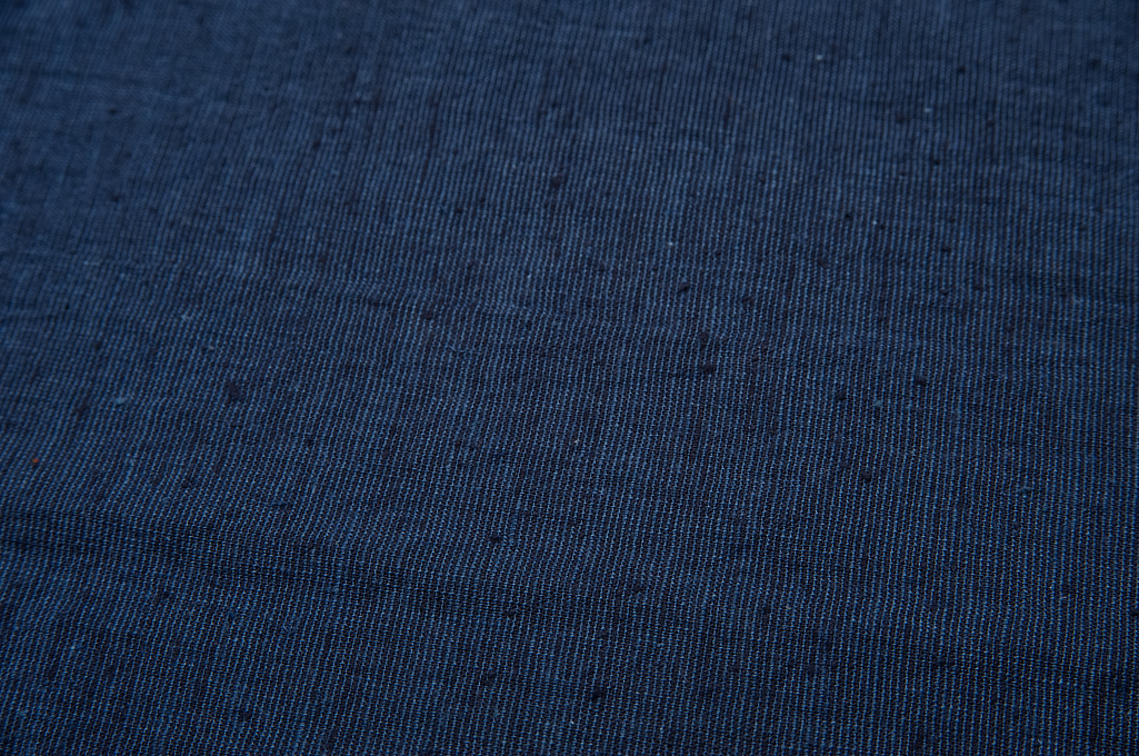 3sixteen Fatigue Over Shirt - Navy Slub Linen - Image 8