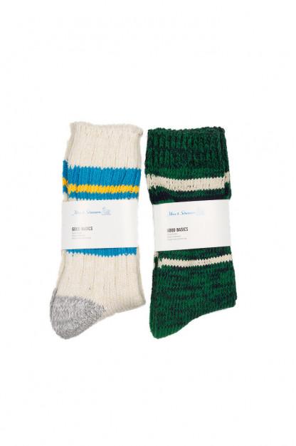 Merz B. Schwanen Recycled Cotton Blend Socks