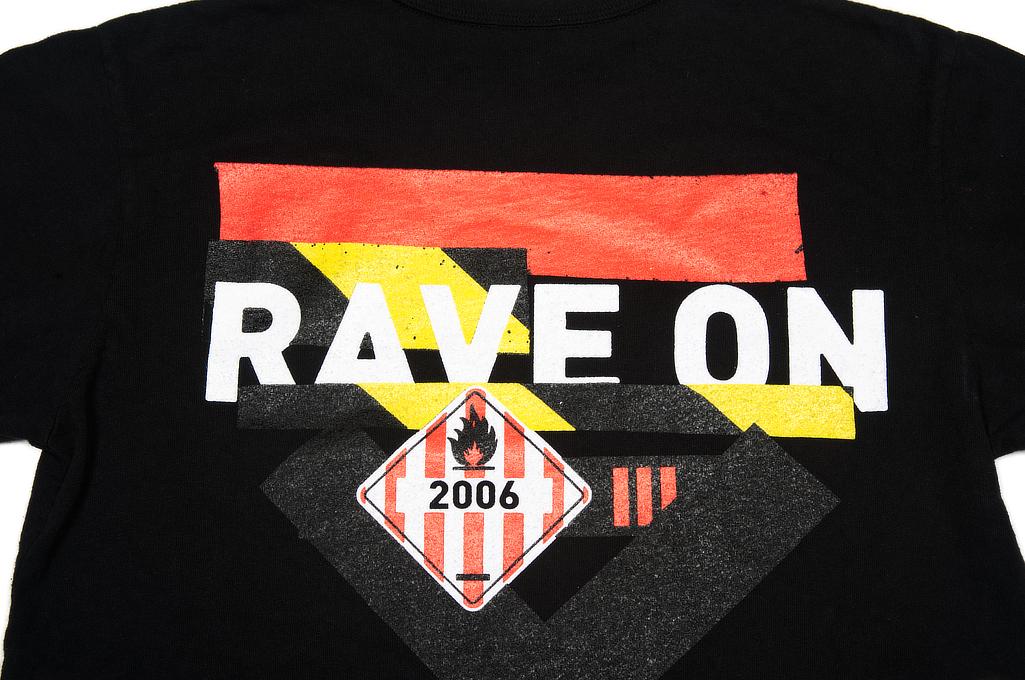 Self Edge Graphic Series T-Shirt #8 - Rave On - Image 4