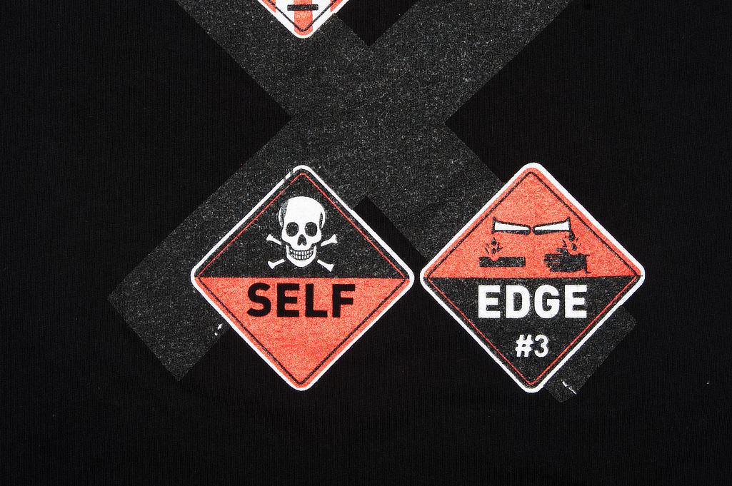 Self Edge Graphic Series T-Shirt #8 - Rave On - Image 5