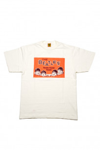 Human Made Slub Cotton T-Shirt - Beatles Party - Image 0