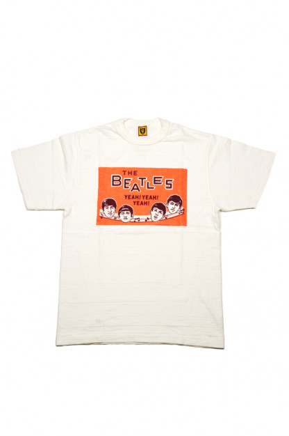 Human Made Slub Cotton T-Shirt - Beatles Party