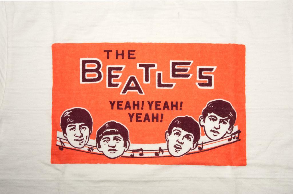 Human Made Slub Cotton T-Shirt - Beatles Party - Image 2