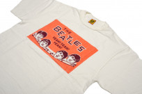 Human Made Slub Cotton T-Shirt - Beatles Party - Image 3