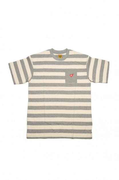 Human Made Border Stripe Pocket T-Shirt