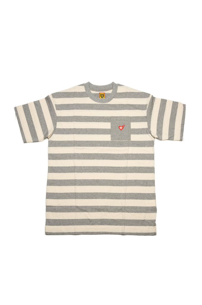 Human Made Border Stripe Pocket T-Shirt - Image 0