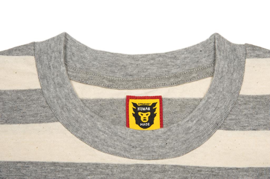 Human Made Border Stripe Pocket T-Shirt - Image 4