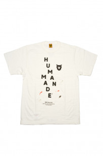 Human Made Slub Cotton T-Shirt - Diagonal Made - Image 0