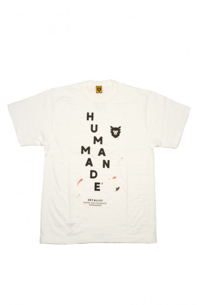Human Made Slub Cotton T-Shirt - Diagonal Made
