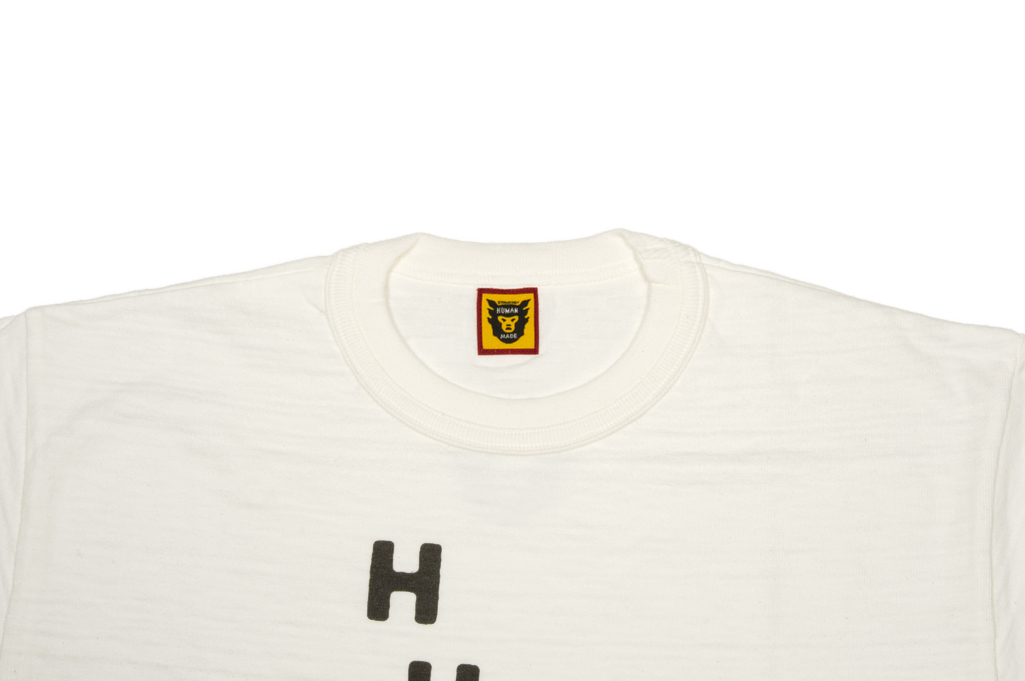 Human Made Slub Cotton T-Shirt - Diagonal Made - Image 1