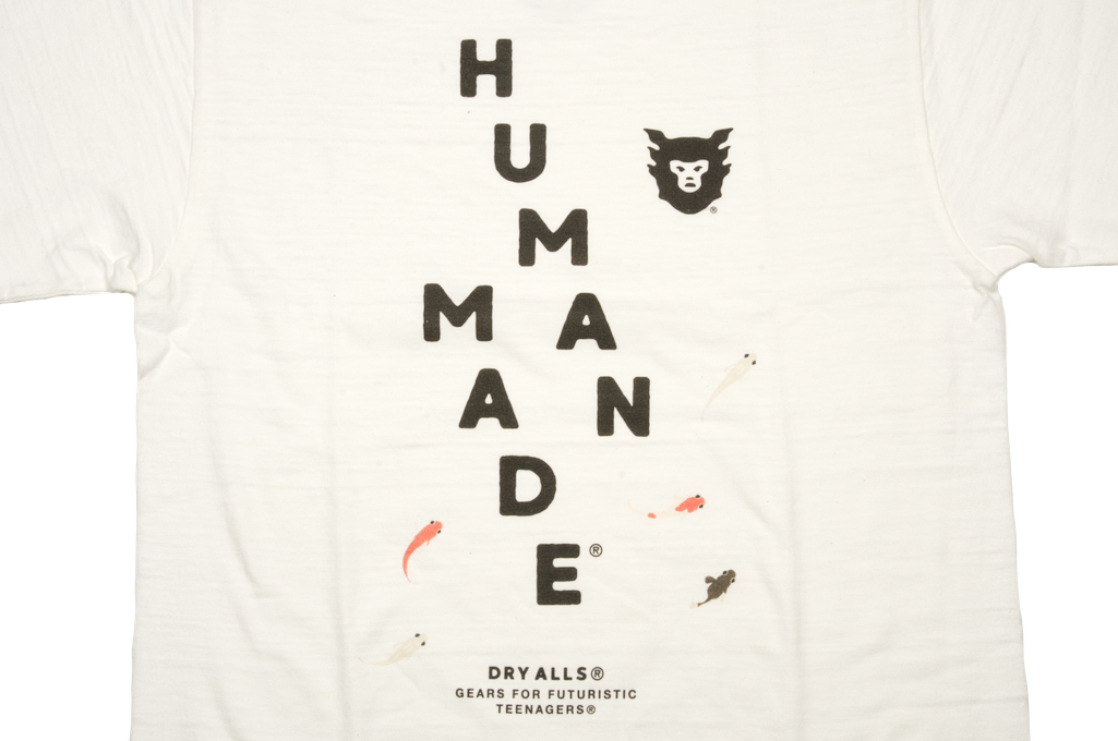 Human Made Slub Cotton T-Shirt - Diagonal Made - Image 2