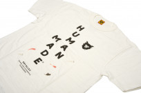 Human Made Slub Cotton T-Shirt - Diagonal Made - Image 3