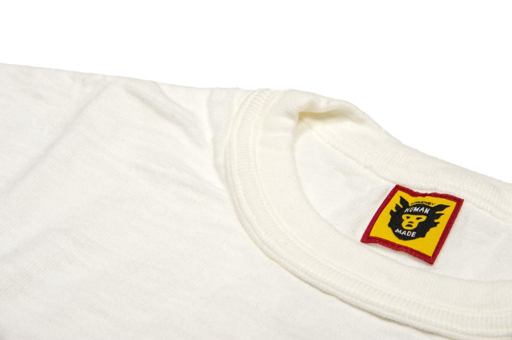 Human Made Slub Cotton T-Shirt - Diagonal Made - Image 4