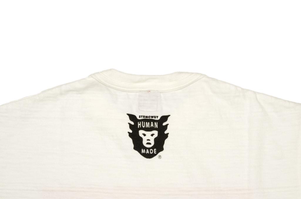 Human Made Slub Cotton T-Shirt - Diagonal Made - Image 5