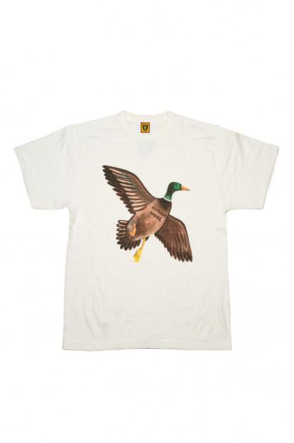 Human Made Slub Cotton T-Shirt - Favorite Bird
