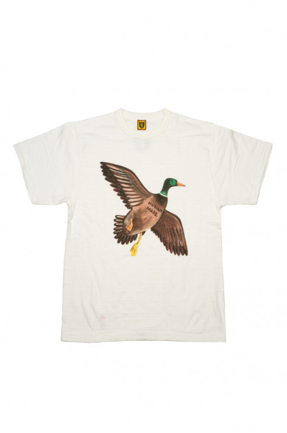 Human Made Slub Cotton T-Shirt - Favorite Bird