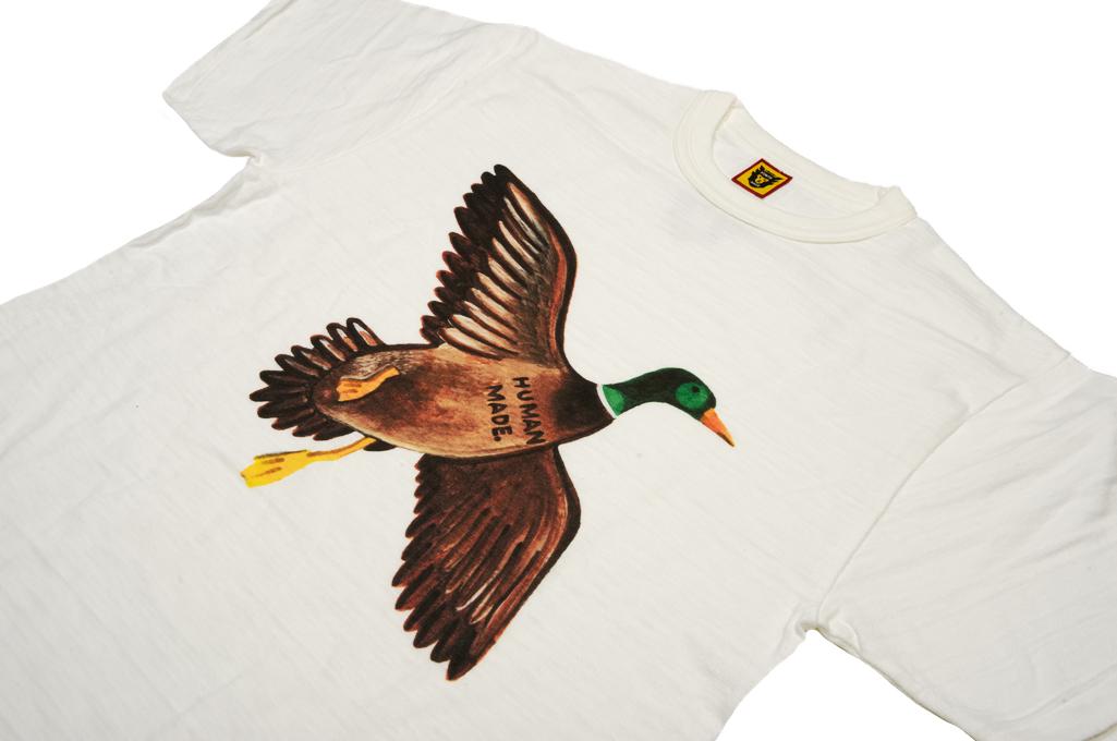 Human Made Slub Cotton T-Shirt - Favorite Bird - Image 3