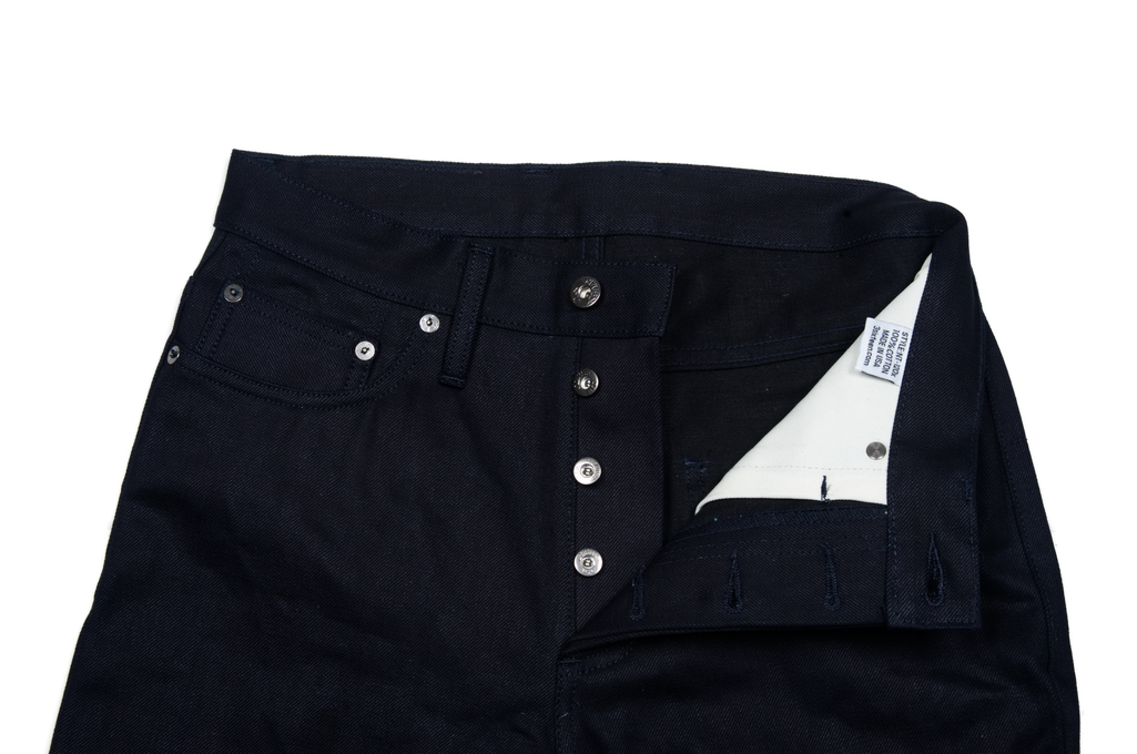 3sixteen NT-120x Jean - Narrow Tapered Shadow Selvedge - Image 9