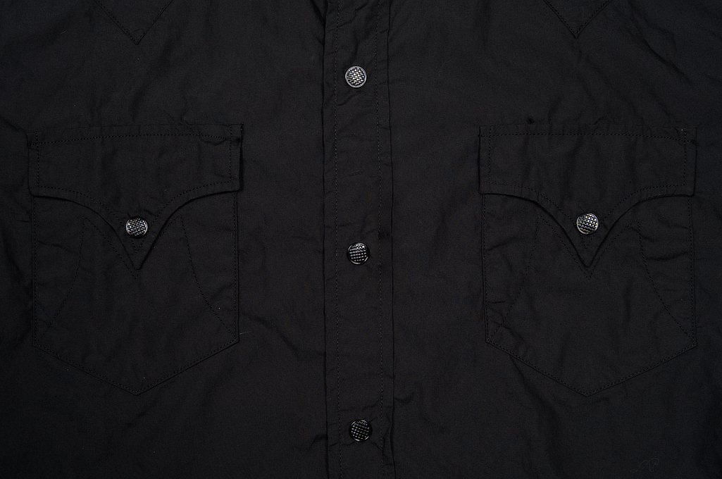 Mister Freedom Dude Rancher Shirt - Black Poplin - Image 4