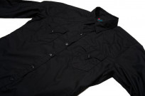 Mister Freedom Dude Rancher Shirt - Black Poplin - Image 5