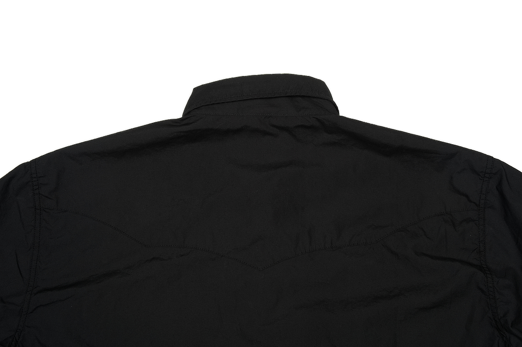 Mister Freedom Dude Rancher Shirt - Black Poplin - Image 7