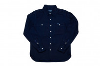 Iron Heart 13oz Double-Indigo Faced Workshirt - Image 2